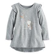 Baby Girl Jumping Beans® Ruffle High-Low Hem Tunic