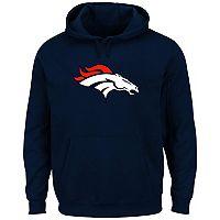 Big & Tall Denver Broncos Pullover Fleece Hoodie