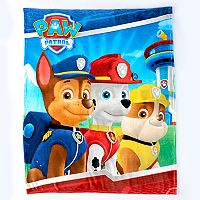 Paw Patrol Three Times The Fun Silk Touch Throw