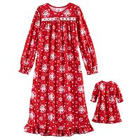 Girls 4-10 The Elf on the Shelf® Scout Elf Nightgown & Doll Gown Set