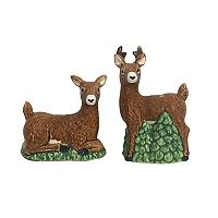 St. Nicholas Square® Lodge Salt & Pepper Shaker Set