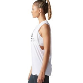 Women's adidas Badge Of Sport Muscle Graphic Tank