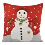 Pomeroy Snowman Throw Pillow