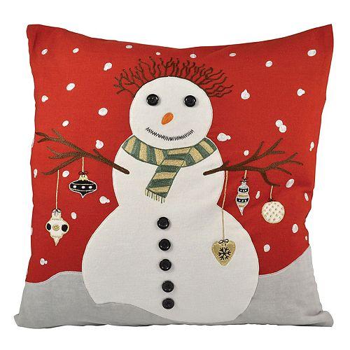 Pomeroy Snowman Throw Pillow