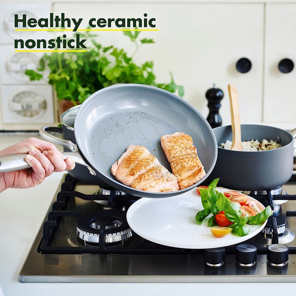 GreenPan Lima 12-in. Ceramic Nonstick Covered Frypan