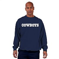 Big & Tall Dallas Cowboys Fleece Crew Sweatshirt