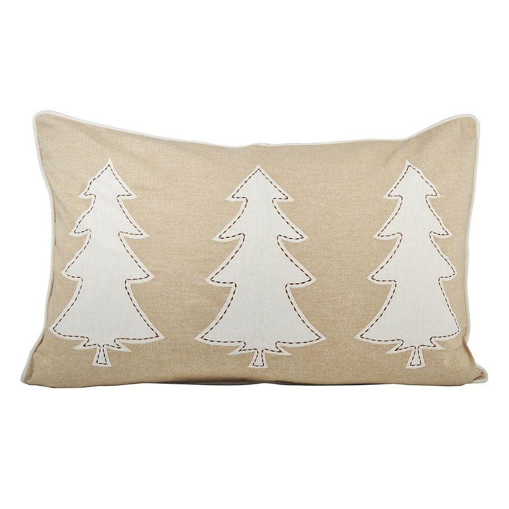 Pomeroy Winter Edge Oblong Throw Pillow