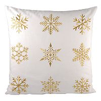 Pomeroy White Christmas Throw Pillow