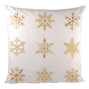 Pomeroy White Christmas Throw Pillow