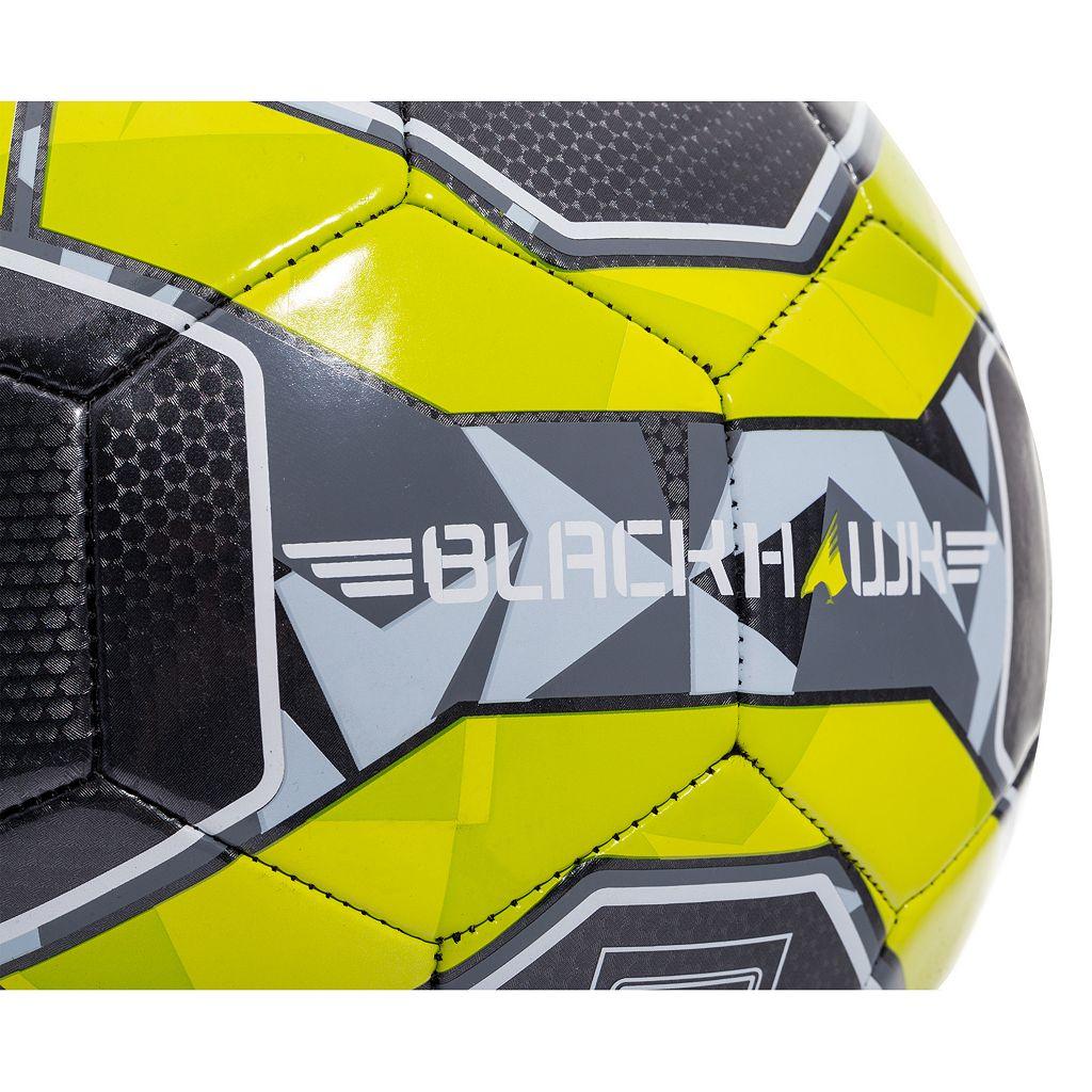 Franklin Sports Size 5 Blackhawk Soccer Ball