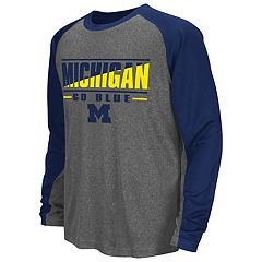 Boys 8-20 Campus Heritage Michigan Wolverines Jet Tee