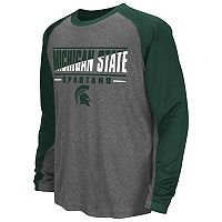 Boys 8-20 Campus Heritage Michigan State Spartans Jet Tee