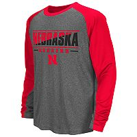Boys 8-20 Campus Heritage Nebraska Cornhuskers Jet Tee