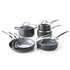 GreenPan Valencia Pro  11-pc. Ceramic Nonstick Cookware Set
