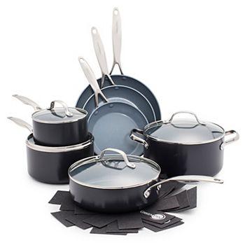 GreenPan Valencia Pro  11-pc. Ceramic Nonstick Cookware Set