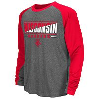 Boys 8-20 Campus Heritage Wisconsin Badgers Jet Tee