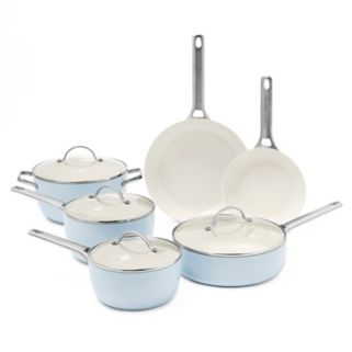 GreenPan Padova 10-pc. Ceramic Nonstick Cookware Set