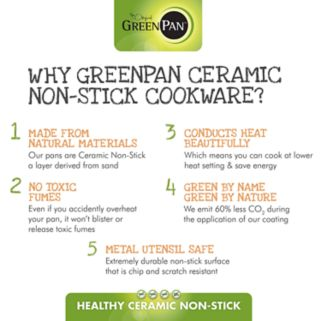 GreenPan Padova 2-pc. Ceramic Nonstick Frypan Set