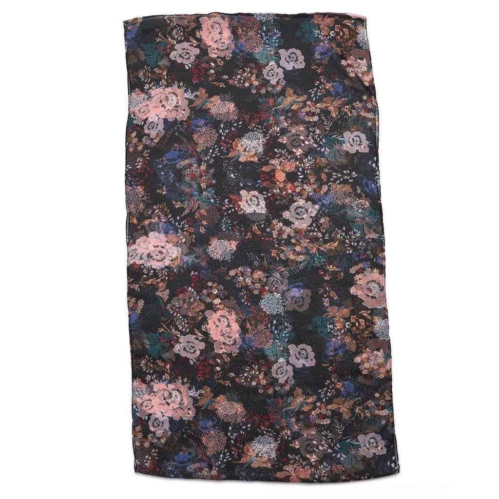 Apt. 9® Floral Chiffon Infinity Scarf