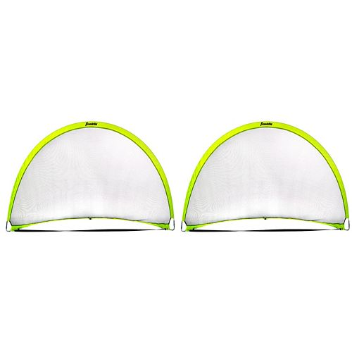 Franklin Sports 2-pk. 6-ft. x 4-ft. Pop-Up Dome Shaped Goal