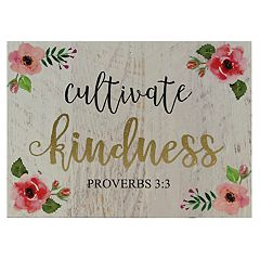 Belle Maison 'Cultivate Kindness' Wall Art