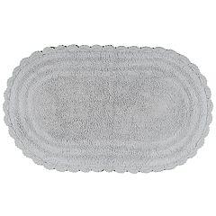 Madison Notting Hill Solid Crochet Bath Rug