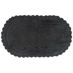 Madison Notting Hill Solid Crochet Bath Rug