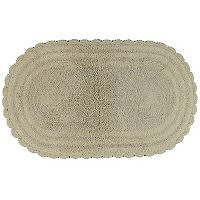 Madison Park Notting Hill Solid Crochet Bath Rug