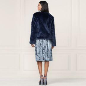 LC Lauren Conrad Runway Collection Faux-Fur Jacket - Women's