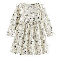 Jumping Beans® Baby Girl Printed Babydoll Dress
