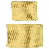 Madison Park 2-piece Pom Pom Bath Rug Set