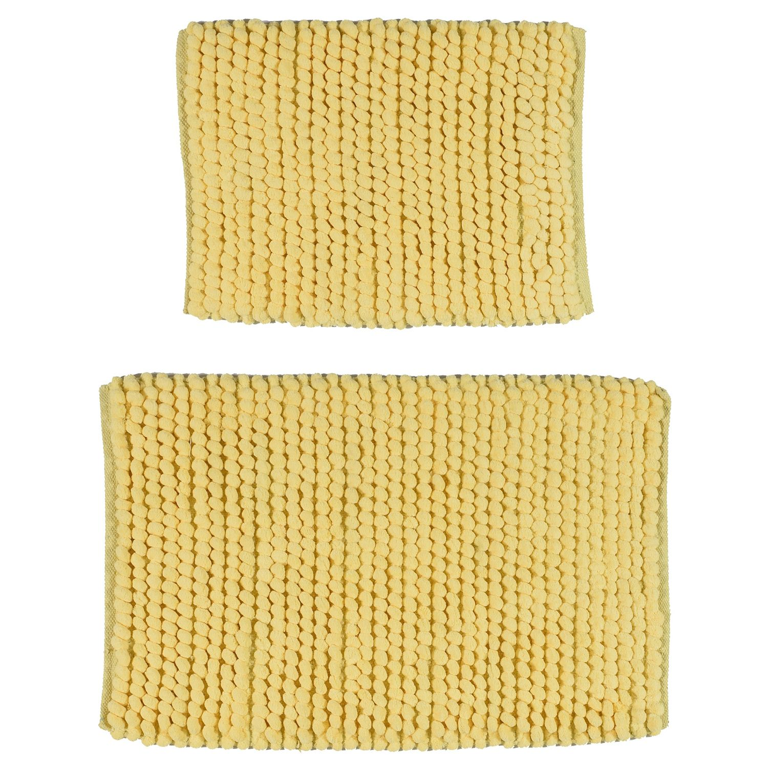Madison Park 2 Piece Pom Pom Bath Rug Set