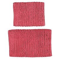 Madison Park 2 pc Pom Pom Bath Rug Set