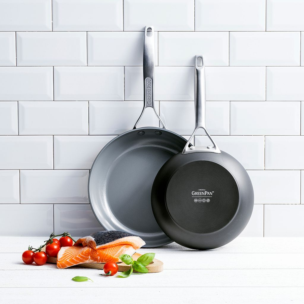 GreenPan Paris Pro Ceramic Nonstick Frypan Set