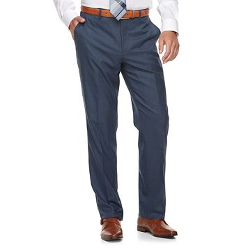 Men's Marc Anthony Slim-Fit Blue Stretch Suit Pants