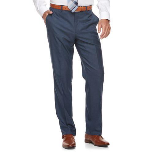 Men's Marc Anthony Slim-Fit Blue Stretch Suit Pants