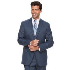 Men's Marc Anthony Slim-Fit Blue Stretch Suit Jacket