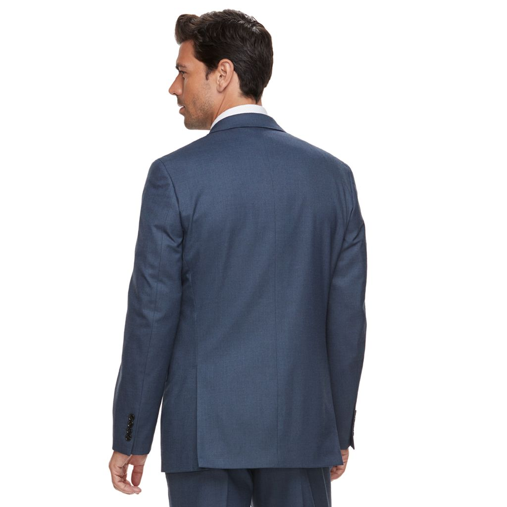 Men's Marc Anthony Slim-Fit Blue Stretch Suit Jacket