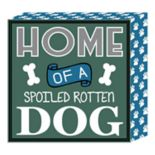 "Belle Maison ""Dog"" Box Sign Wall Art"