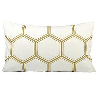 Pomeroy Hex Oblong Throw Pillow
