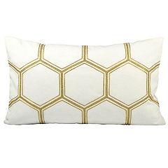 Pomeroy Hex Oblong Throw Pillow