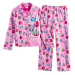 Girls 4-12 Shopkins Top & Bottoms Pajama Set