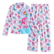 Girls 4-8 My Little Pony Rainbow Dash & Pinkie Pie Top & Bottoms Pajama Set