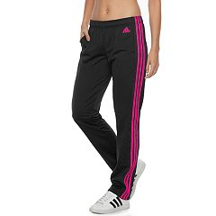 Women's adidas Designed 2 Move Midrise Striped Performance Pants