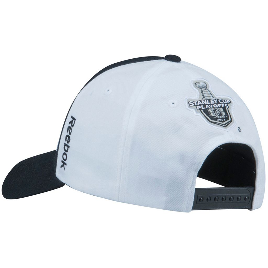 Adult Reebok Pittsburgh Penguins 2017 Conference Champions On Ice Adjustable Cap