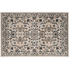 Safavieh Carolina Paisley Bouquet Framed Floral Rug