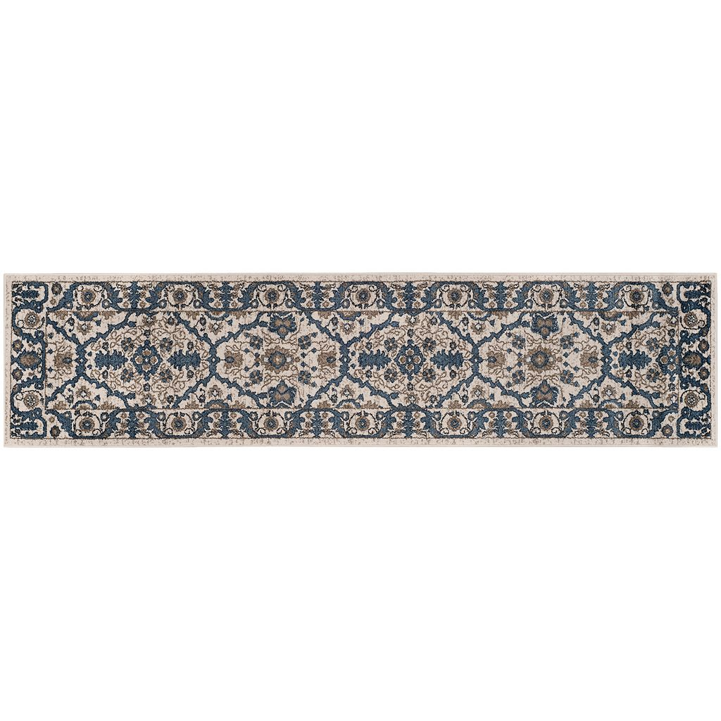 Safavieh Carolina Lattice Flower Framed Rug