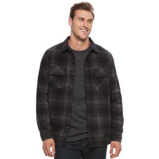 Big & Tall Croft & Barrow® Arctic Fleece Shirt Jacket