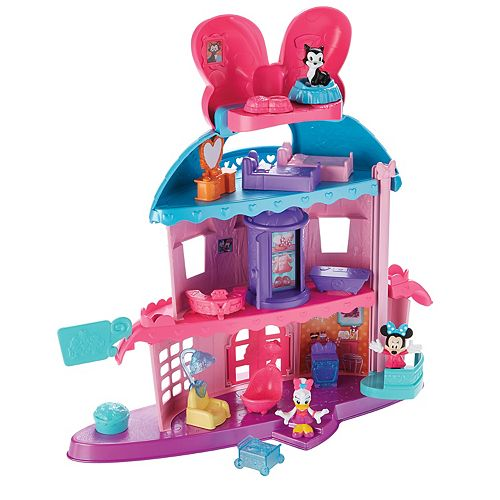ff4edfb24f963 Disney's Minnie Mouse Home Sweet Headquarters by Fisher-Price