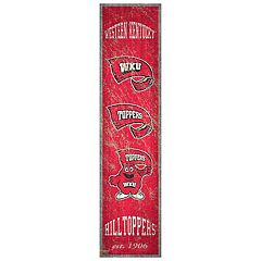 Western Kentucky Hilltoppers Heritage Banner Wall Art